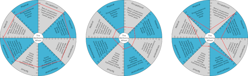wellbeing wheel 3 images 800