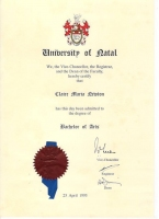 Bachelor of Arts Degree (BA)