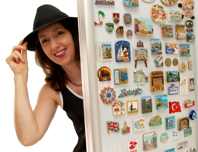 Claire Newton fridge magnets