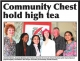 Glenwood Gazette - Community Chest Hold High Tea