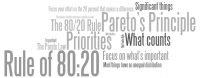 Pareto's Principle - The 80/20 Rule