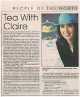 The Bugle - Tea With Claire